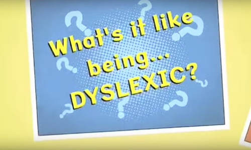 Dyslexia Explained Video